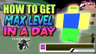 How to get max level in a day project jojo videos / InfiniTube