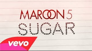 Maroon 5 - Sugar (Official Lyrics Video) 魔力紅 -糖