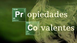 Imagen en miniatura para Propiedades Covalentes