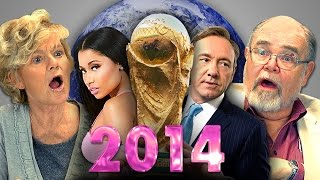 ELDERS REACT TO 2014: YEAR IN SEARCH