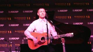 "David Gray **New Song** ""Force of Nature"" (720p HD) Live at Sundance on January 26, 2012"