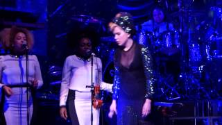 Paloma Faith - I'd Rather Go Blind (cover) live Liverpool Empire 04-06-13
