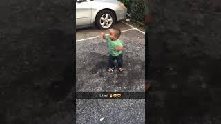 Baby zyhlin dancing to Migos bad & boujee
