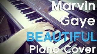 """Marvin Gaye"" Piano Cover - Beautiful Instrumental Version!"