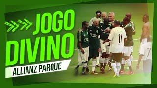 Ademir da Guia marca o primeiro gol da história do Allianz Parque