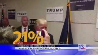 Trump lidera entre los republicanos