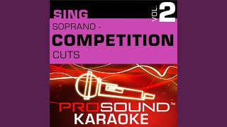 All That Jazz (Competition Cut) (Karaoke With Background Vocals) (In the Style of Catherine...