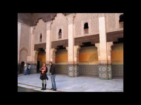 Busy Marrakesh – Koutoubia Mosque & Ben Youssef Madrasa  & Dar Menebhi Palace