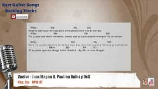 Vuelve - Juan Magan ft. Paulina Rubio, DCS Vocal Backing Track with chords and lyrics