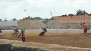 Julien CAYRE - grass track 125 cc - manche 1 - Ste Christine - 28 août 2011
