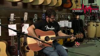 Cole Clark Fat Lady 2 Redwood Rosewood Ebony - Somerset Music Demo