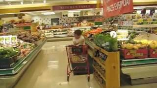 fun in the supermarket by Casey Neistat