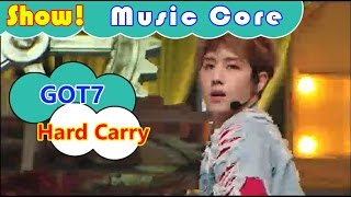 [Comeback Stage] GOT7 - Hard Carry, 갓세븐 - 하드캐리 Show Music core 20161001