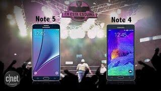 Frente a frente: Samsung Galaxy Note 5 vs Galaxy Note 4 [video]