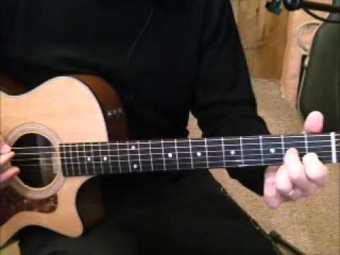 Comment jouer La dame de Haute Savoie de Francis Cabrel à la guitare