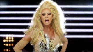 RuPaul Champion music video (featuring Raja, Manila Luzon and Alexis Mateo)