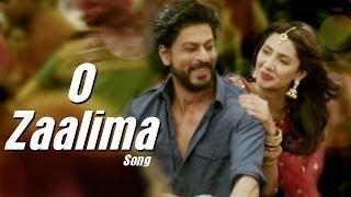 Zaalima Song Lyrics- Raees (Shah Rukh Khan & Mahira Khan)