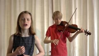 """Habanera"" from Carmen (Bizet) (cover, Marjolein 10yo)"