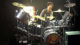 Solo Drummer Cindy Blackman - Carlos Santana Live In Morrison, Co Sep - 04 - 2011