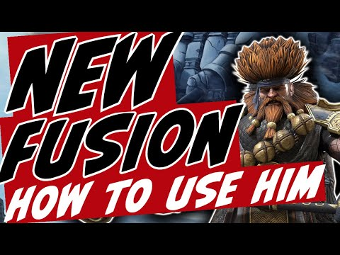 New Fusion this Monday. Where is he effective? Raid Shadow Legends.