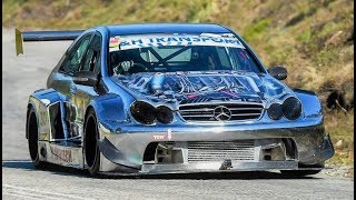 800Hp/1100Nm AMG DTM 55 Turbo    Mercedes One-Off Monster - Simola HillClimb 2018