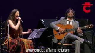 Daniel Casares y Dulce Pontes en el Festival de la Guitarra 2016