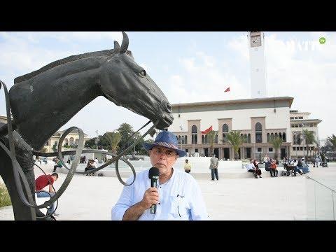 Les sculptures de Sahbi Chtioui sur la place Mohammed V