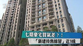 七期豪宅買氣差?! 「新建待售餘屋」近3成