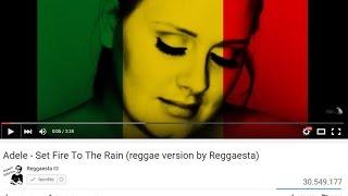 Adele - Set Fire To The Rain (original reggae version by Reggaesta) + LYRICS