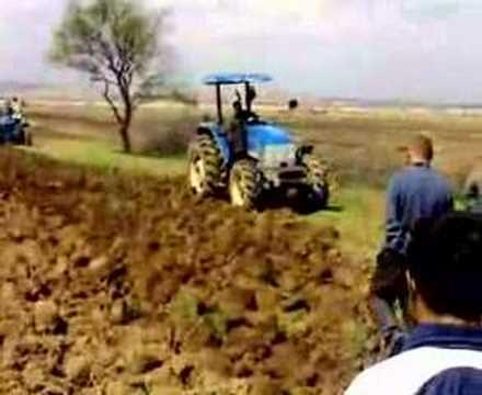 FARMTRAC 60 DT & ERKUNT 80 DT  PULLUK DENEMESİ