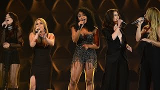 """Fifth Harmony Cover Meghan Trainor's """"Like I'm Gonna Lose You"""" At Billboard's Women in Music"""