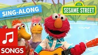 Sesame Street: Elmo's Ducks Lyric Video | Elmo's Sing Along Series