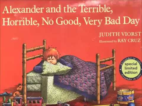 Alexander and the Terrible, Horrible, No Good, Very Bad Day! a READ ALOUD - YouTube