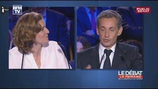 Tension entre NKM et Sarkozy lors du 2e débat de la primaire