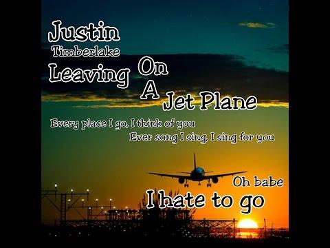Justin Timberlake Leaving On A Jet Plane Chords Chordify