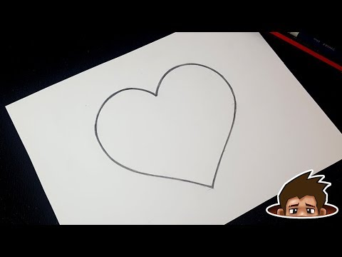 How to Draw a Perfect Heart / Super Easy Step by Step Tutorial