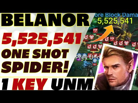 Belanor UNM & Spider 5.5mil 1 key support Raid Shadow Legends Belanor guide
