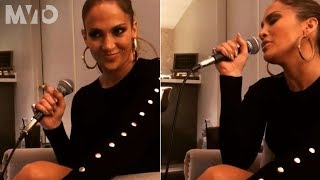 Así le canta Jennifer Lopez a A-Rod en privado  | The MVTO