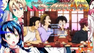 Shokugeki no Soma - Ending - Spice (Male Version) - Fandub Latino