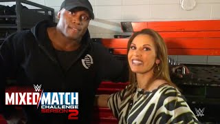 Lio Rush interrupts a bonding moment between Bobby Lashley & Mickie James