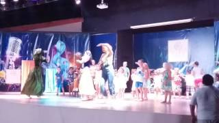 Kids disco part at Akka Alinda Hotel, Kemer (2016-08-04)