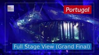 Amar Pelos Dois - Portugal (Full Stage View) - Salvador Sobral - Eurovision 2017 - Final