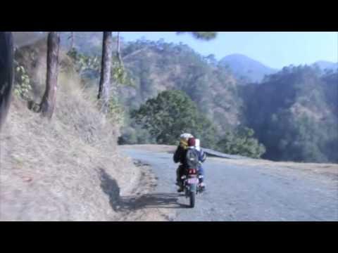 Le Projet Cameleon au Nepal, a moto