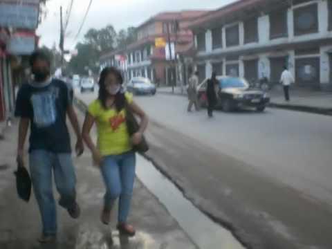 Straatbeeld Kathmandu Nepal (2009)