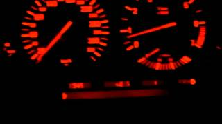 E38 BMW ALPINA B12 5.7 0-200KM RUN