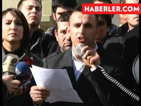 İzmir B.Ş.B. Atanamayan İtfaiye Erlerinden Alkışlı Protesto