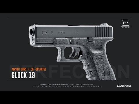 Airsoft CO2 Umarex Glock 19