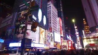 DJI Osmo - Times Square NYC (lowlight test) vid #4
