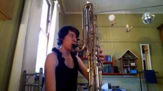 Range of a Paperclip Contrabass Clarinet