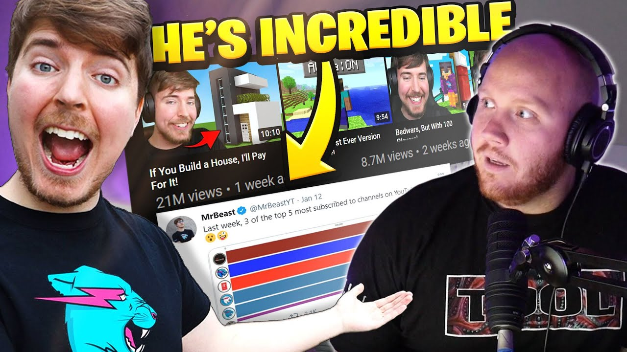 TimTheTatman - WHY MRBEAST IS THE BEST YOUTUBER RIGHT NOW!